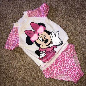 Disney Swim - Minnie Mouse two piece swimsuit
